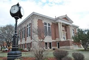 Perry Carnegie Library outside view