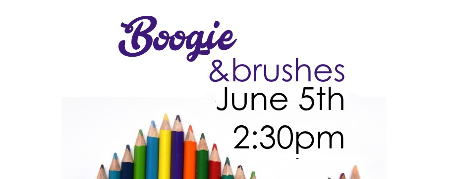 boogie and brushes June 5th 2:30 pm